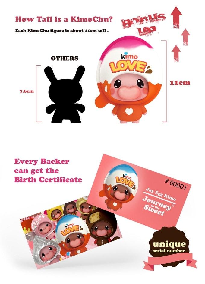Kimochu Journey to the Sweet Kickstarter Series