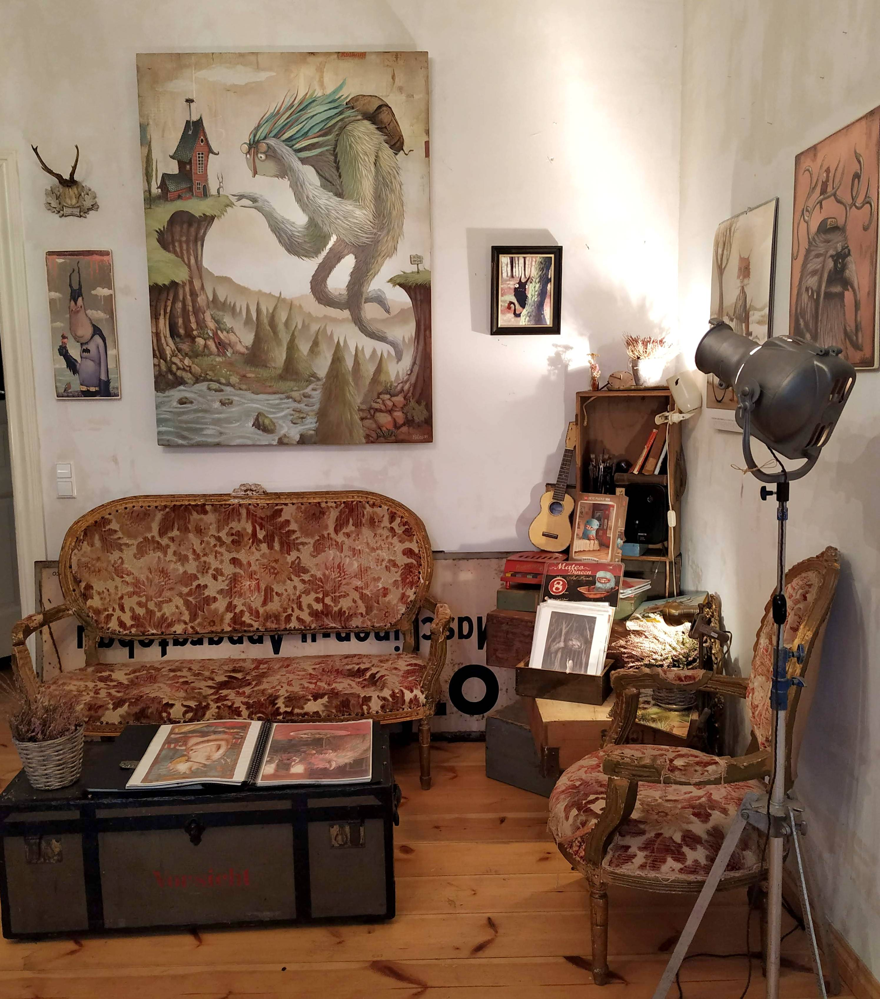 Skallywag Gallery Zozoville Berlin
