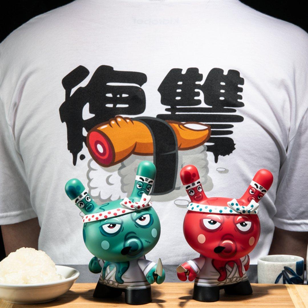 Tako's Revenge Dunny Fakir Kidrobot Custom Art Toy