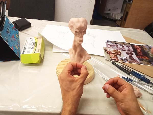 Taller Escultura Fantastica Consell 81 Oscar Berlanga