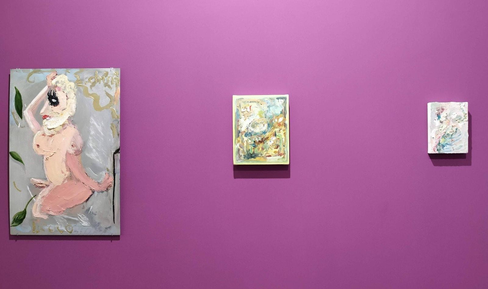 Alida Cervantes y Lucia Vidales - México en Femenino - Galería Deslave