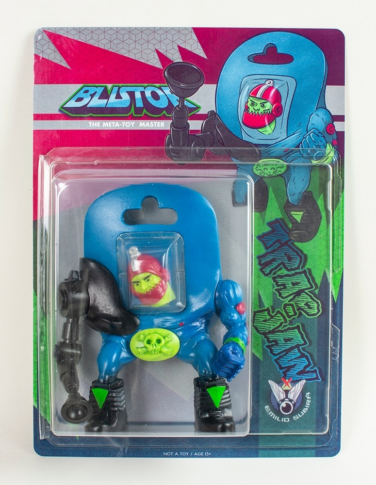 Blistor Trap Jaw MOTU Emilio Subira Art Toy