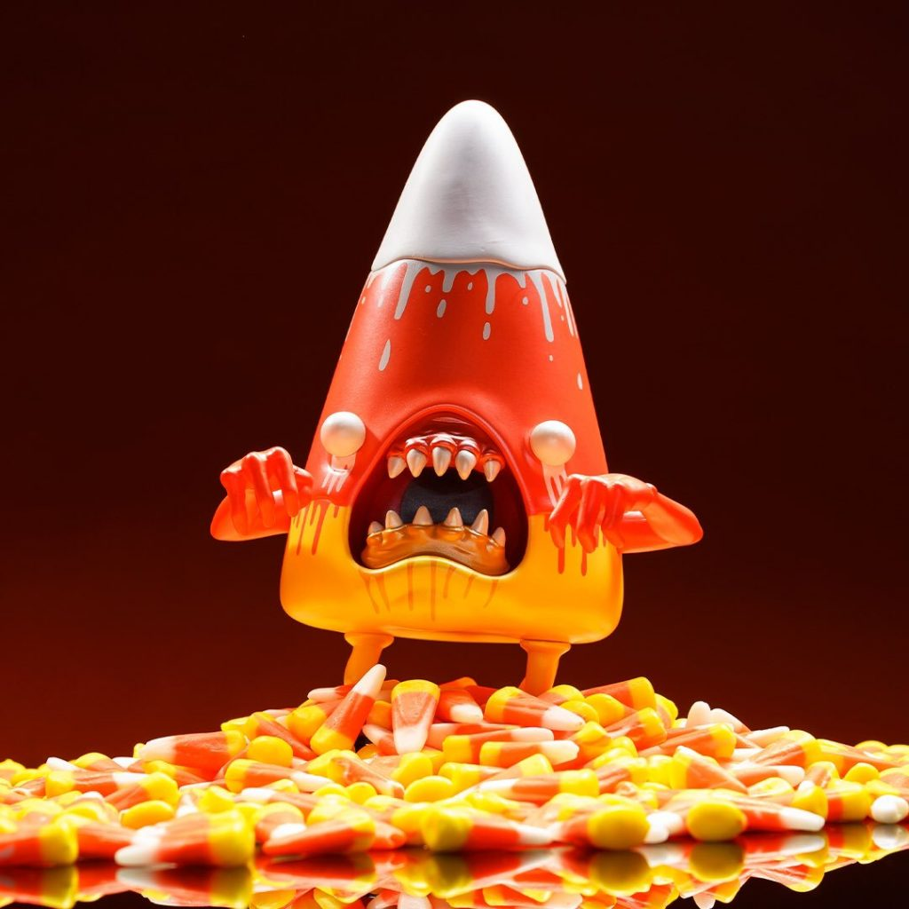 Cornelius Candemon Candy Corn Alex Pardee Fall Edition Art Toy