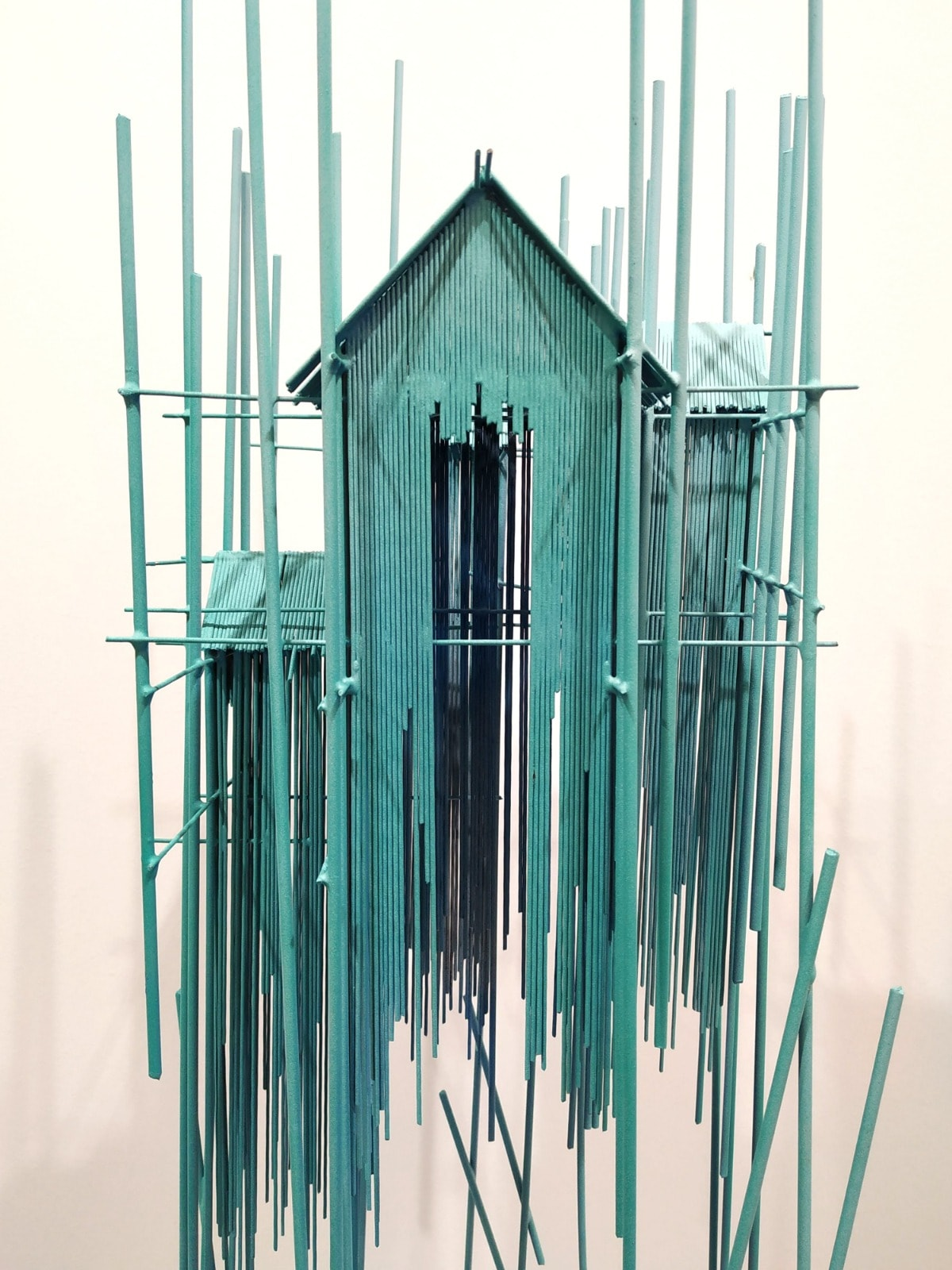 Floating City Blue I - David Moreno -N2 Galeria