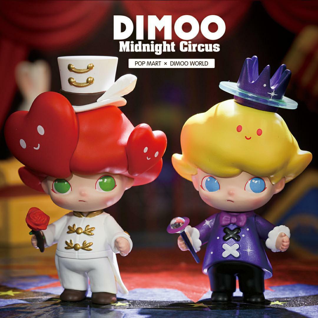 Dimoo Midnight Circus Popmart Mini Serie