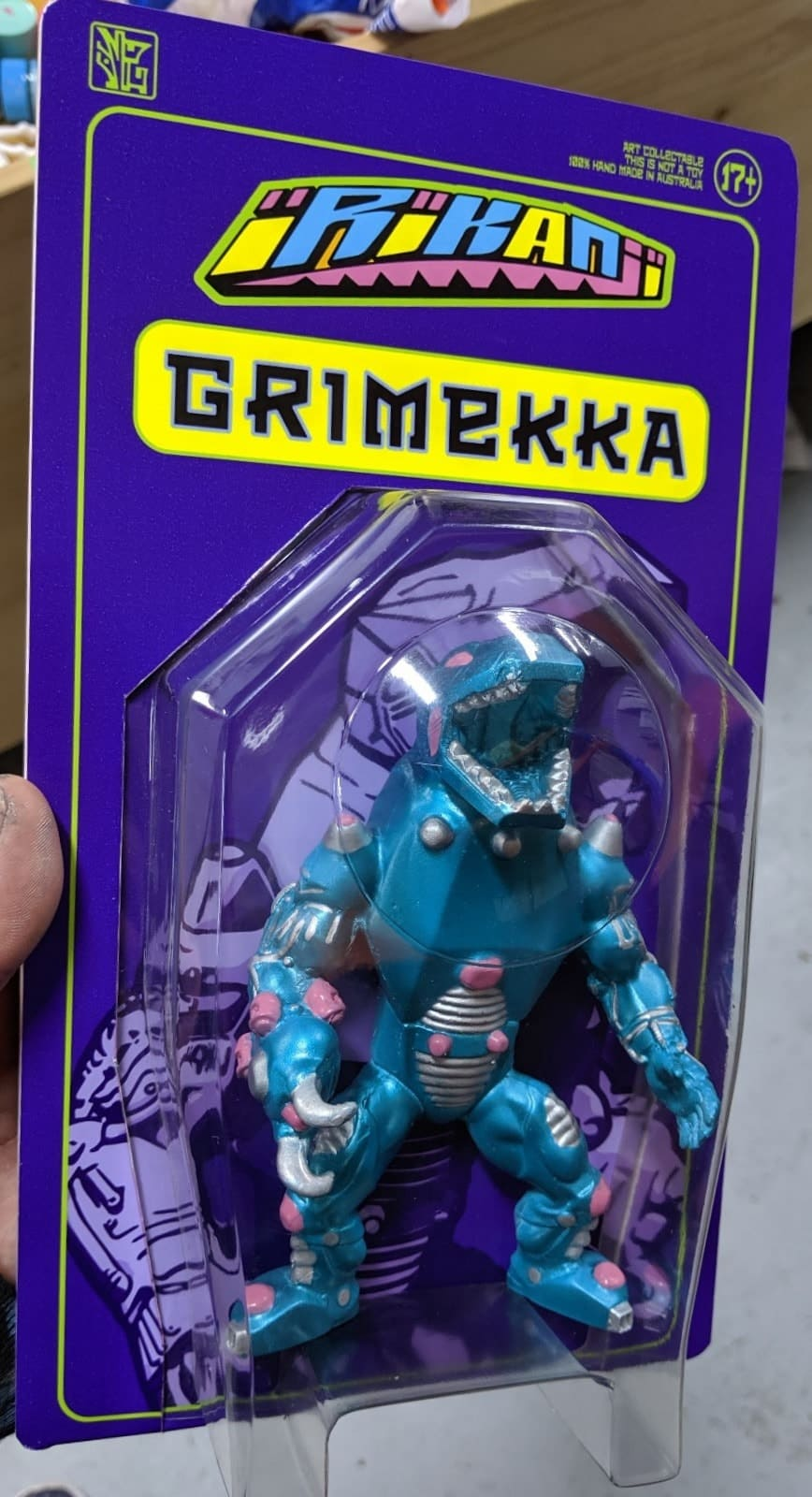 Grimekka Carded Irikanji Facter Resin Art Toy