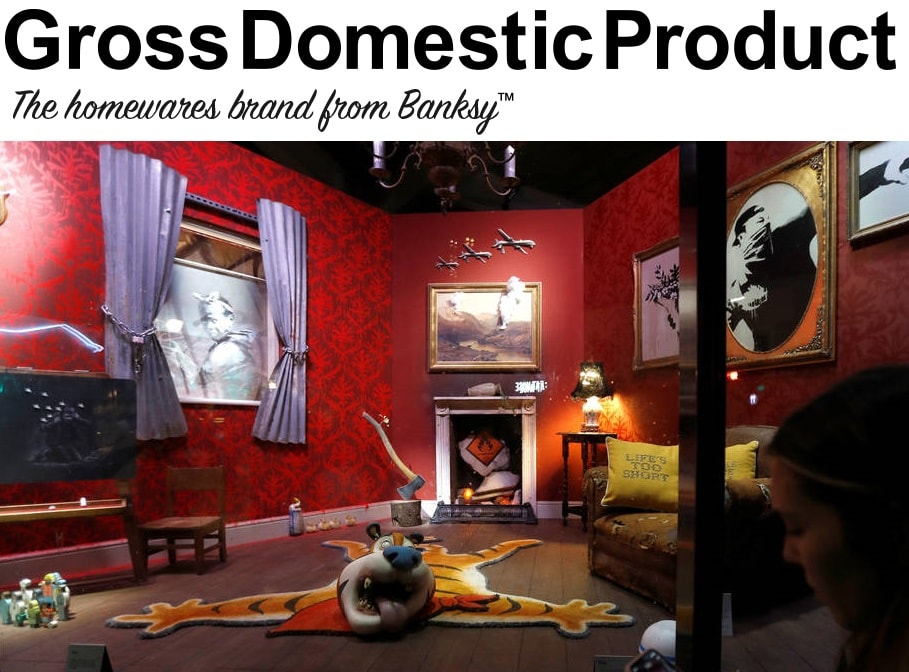 Gross Domestic Product Banksy Art Design