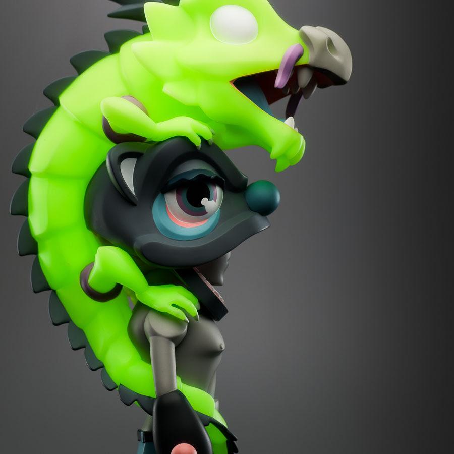 Jaws x Aura Ignited Coarse Art Toy Sculpture