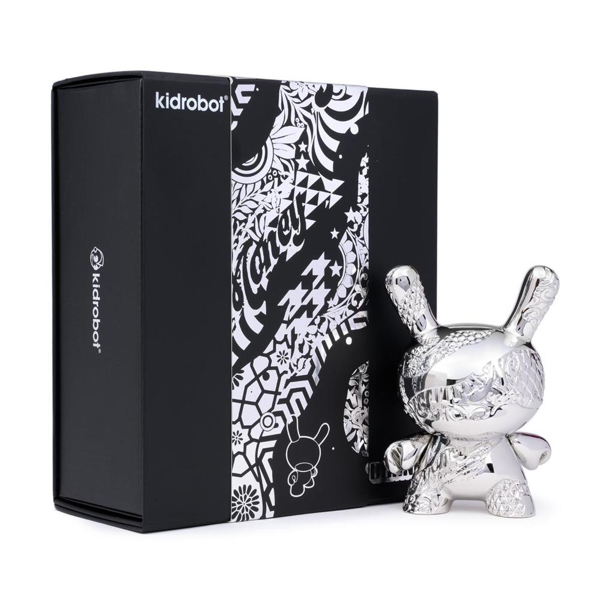 Kidrobot New Money Metal Dunny Tristan Eaton 5 inch Art Toy