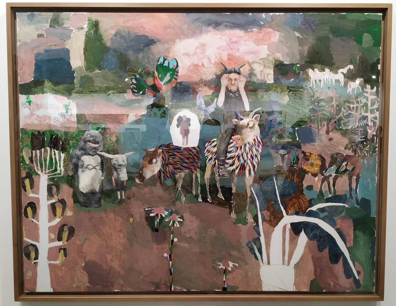 Travesía en el bosque de Nolde Miroco - Mónica Subidé - Galería Contrast