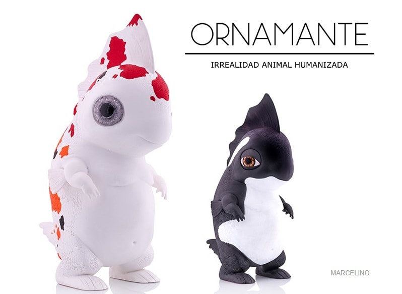 Marcelino Ornamante Sculpture Figure Art Toy