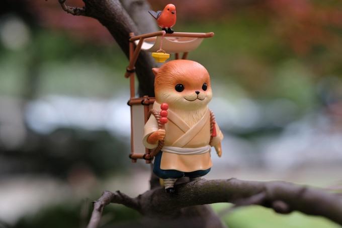 Mr. Otter Sesame Shifu Art Toys Bluepiper Studio