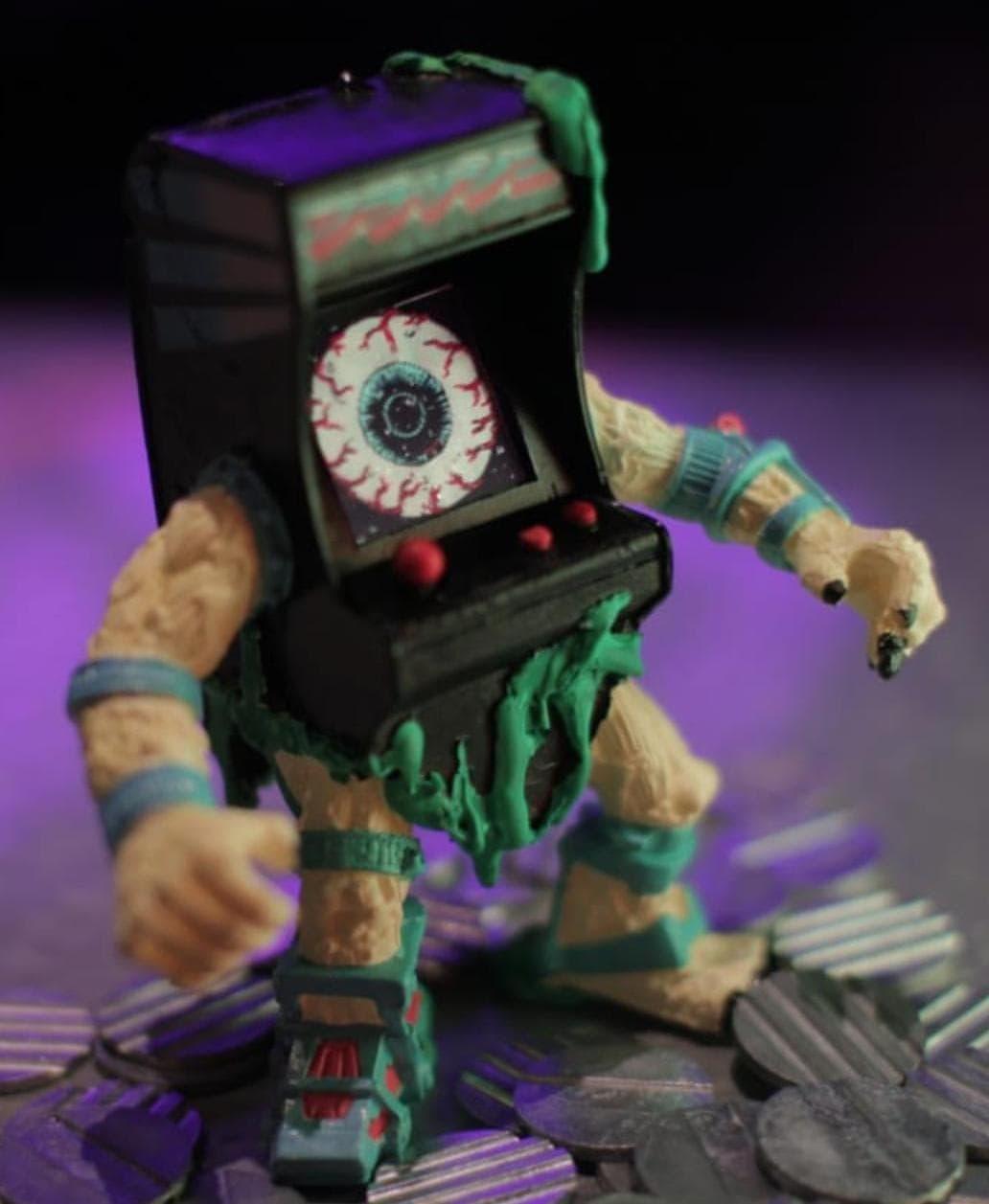 R.K.D. Arkadeath Kalaka Toys Bar El Destello Art Toy