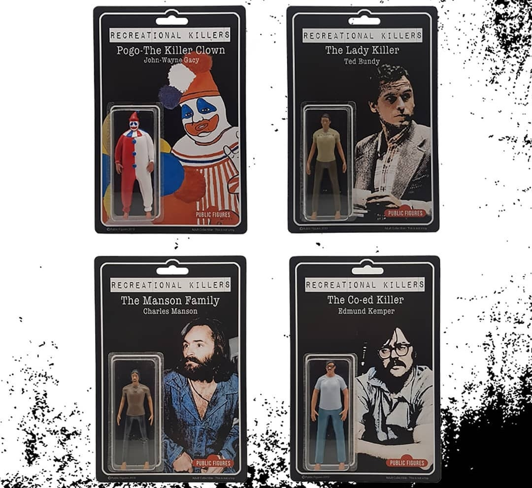 Recreational Killers Public Figures Action Figure Art Toy