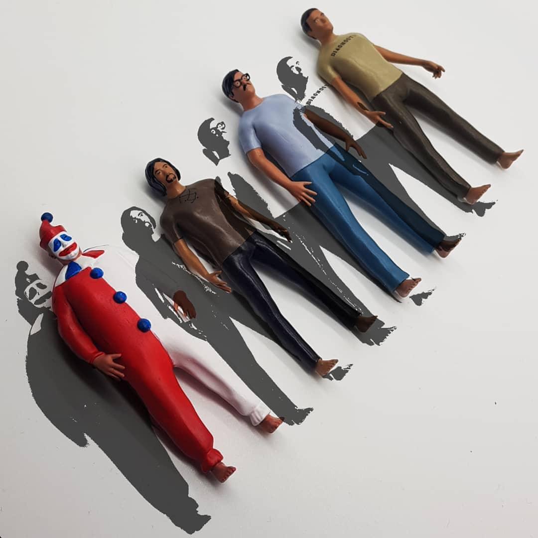 Recreational Killers Public Figures Action Figure Art Toy