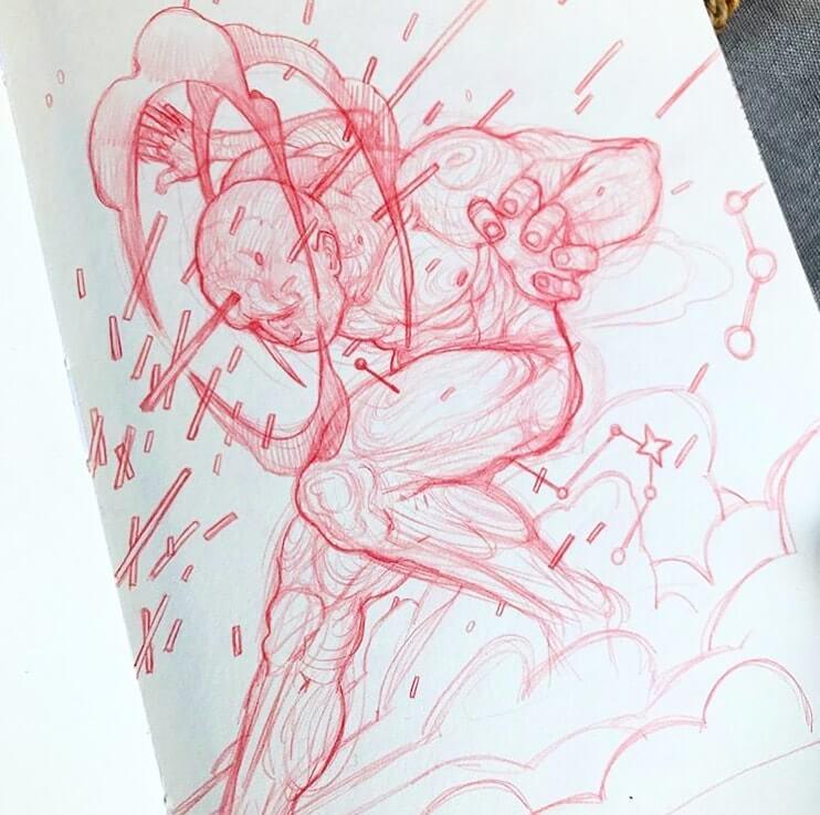 Aleix Gordo Art Book Push Ups Vol II