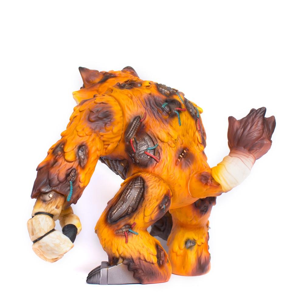 Animatronic Wananeko Sofubi Art Toy Javier Jimenez Stick Up Monsters