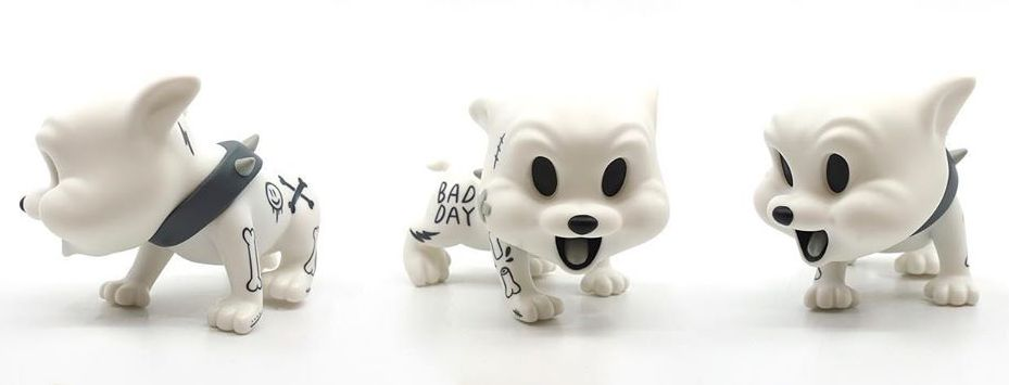 Baby Creepy Dog Cote Escriva Thunder Mates Art Toy Designer Toy Vinyl