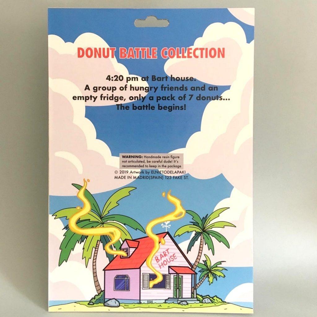 Dragon Ball Bart Simpson Bootleg Resin Toy