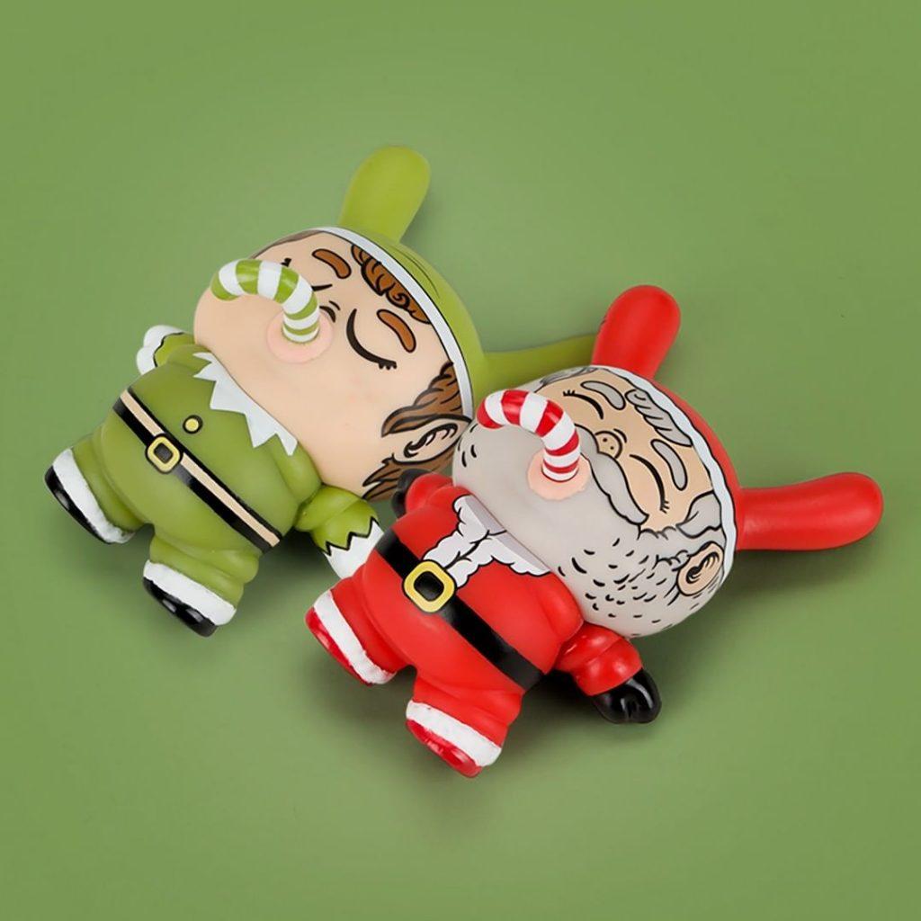 Chunky Holiday Dunny Alex Solis Kidrobot