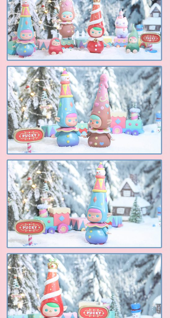 Pucky Christmas Serie Popmart