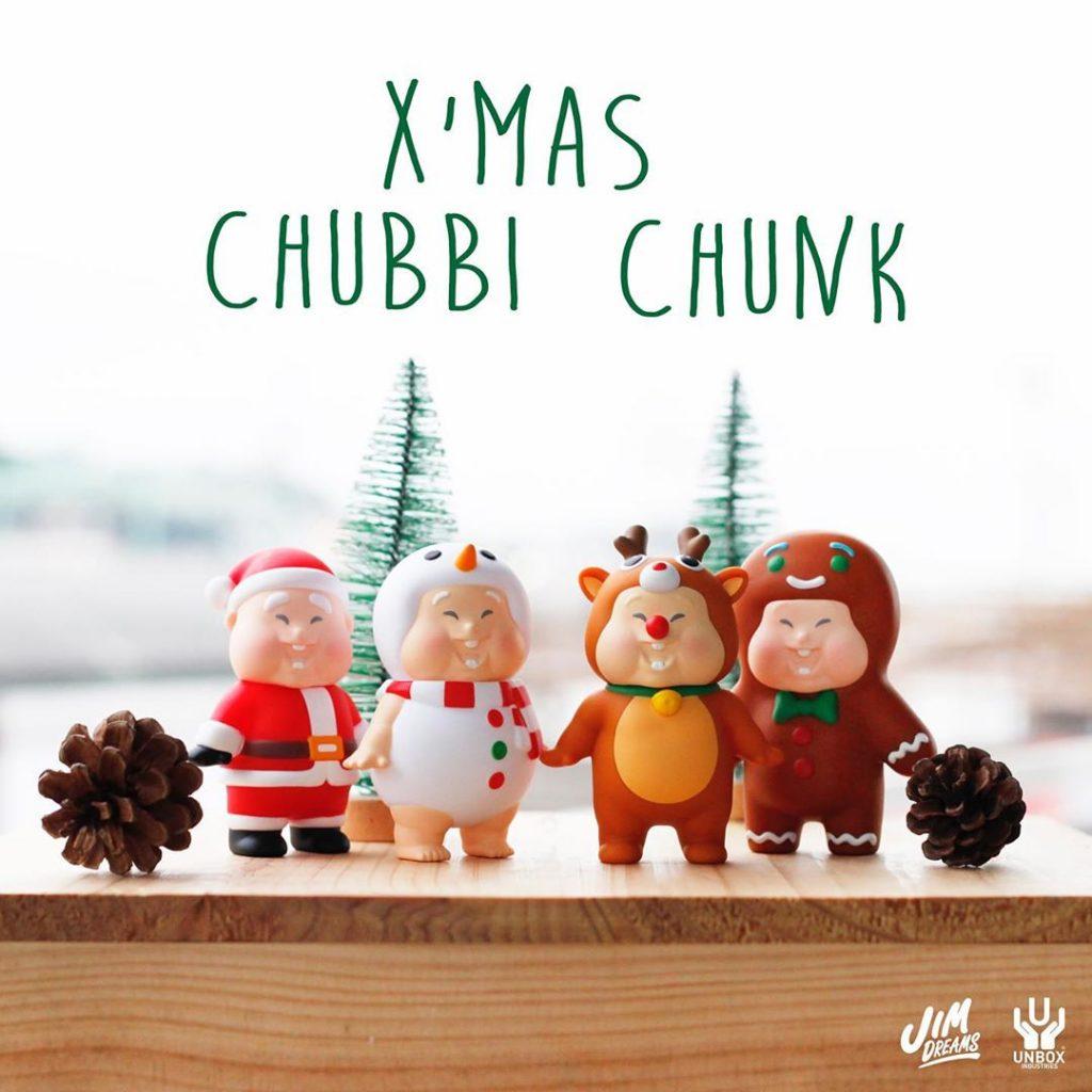 Santa Chubby Chunk Set de Jim Dreams 1