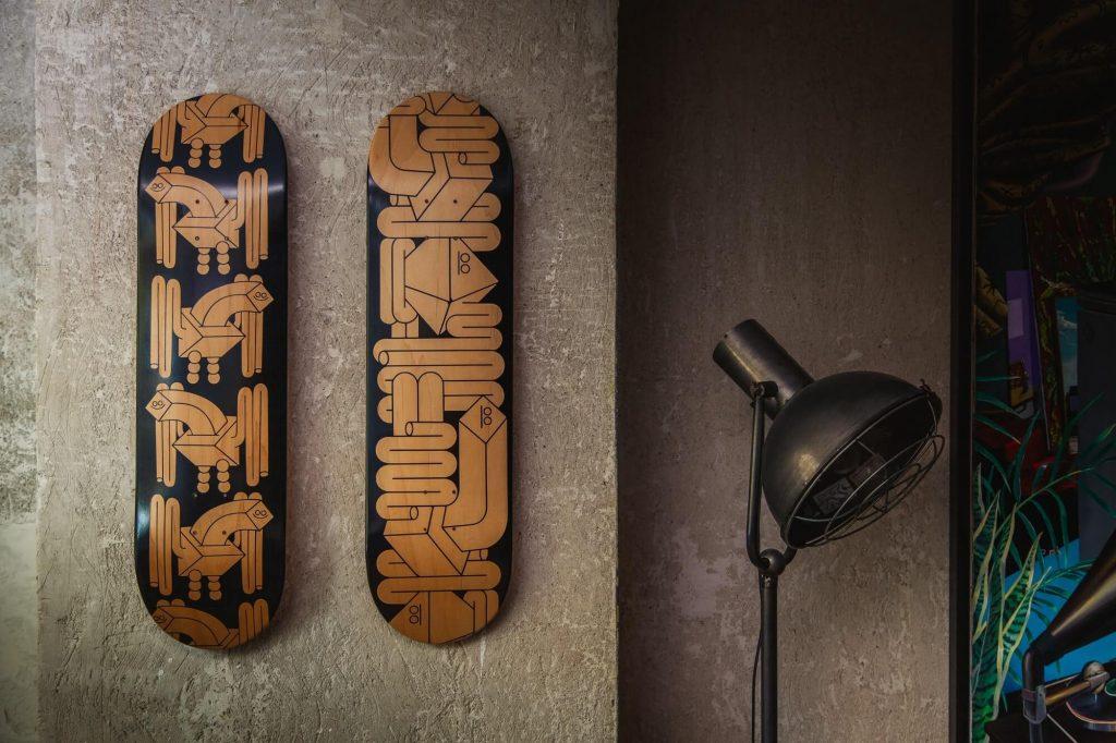 Skate Diaz Faes Blackfaes ceramica diseño