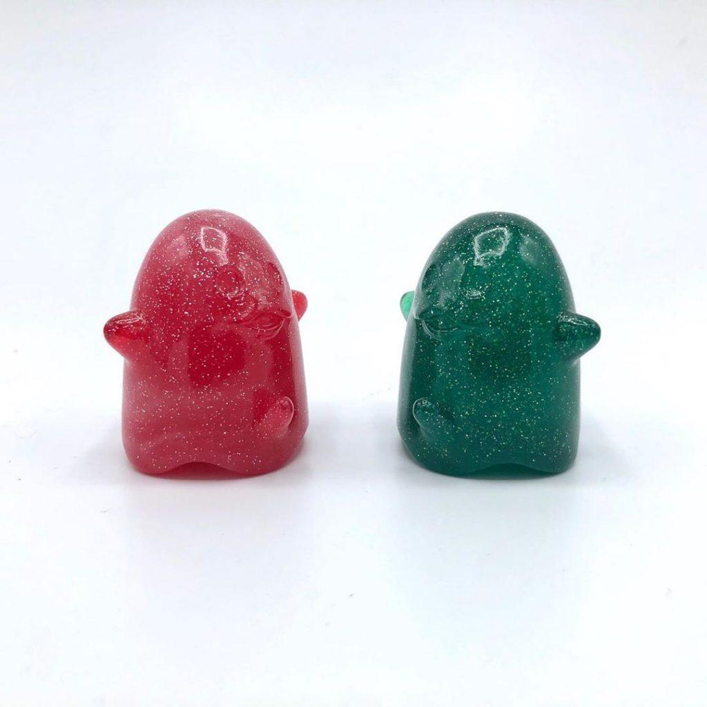 Xxx-mas ghost bonner uvd toys resin art toy