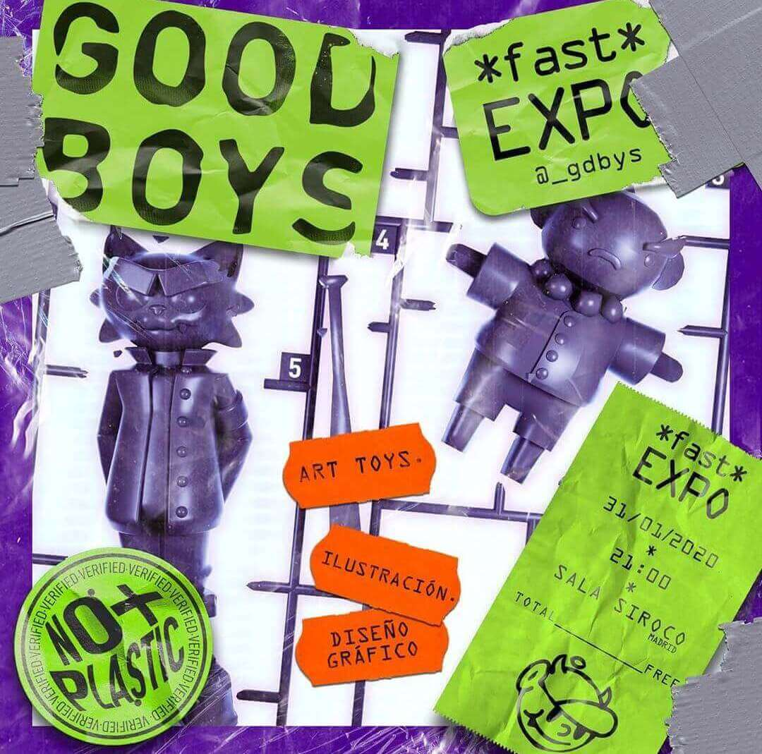 GoodBoys Fast Expo Sala Siroco Art Toys