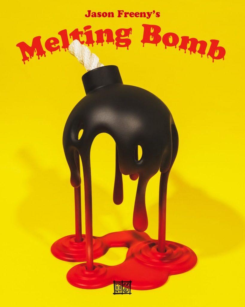 Melting Bomb Mighty Jaxx Jason Freeny Sculpture