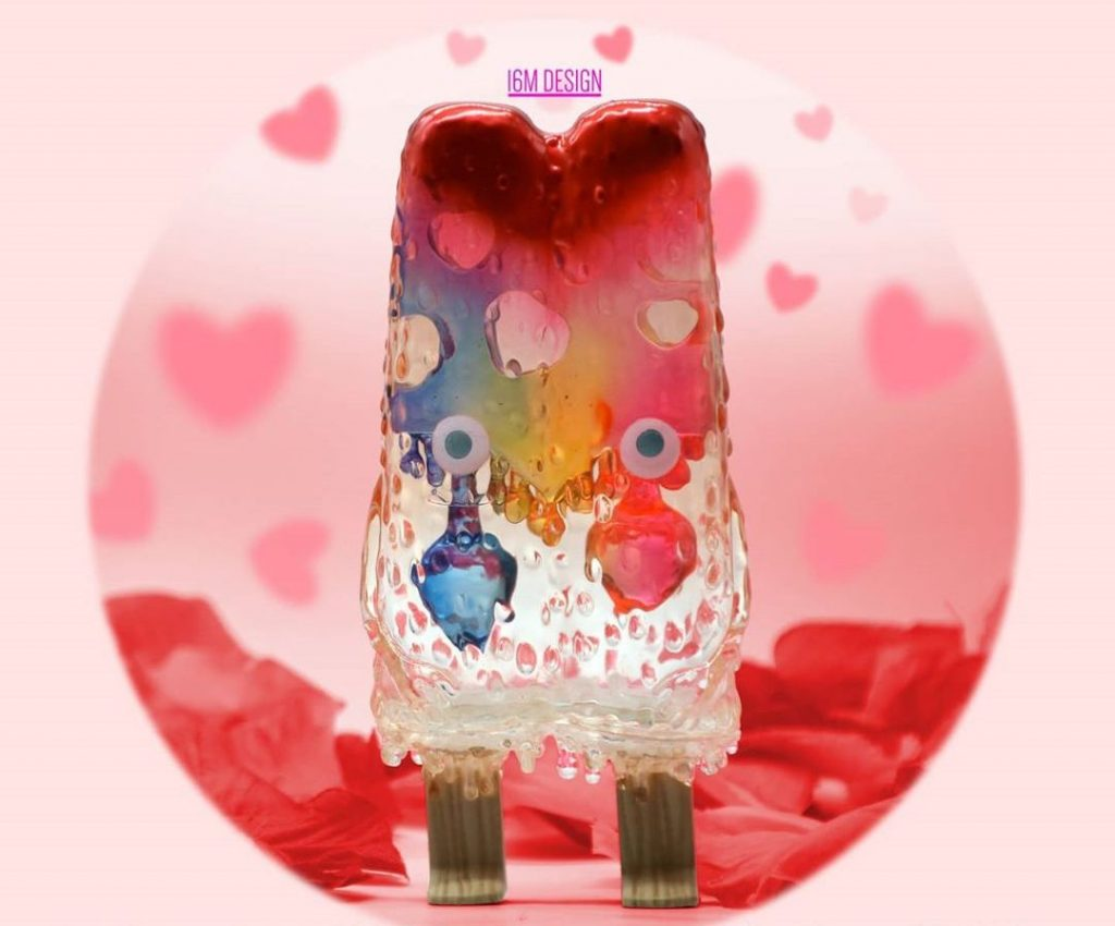 16 M Design Popsicle Mon San Valentin Art Toy (8)
