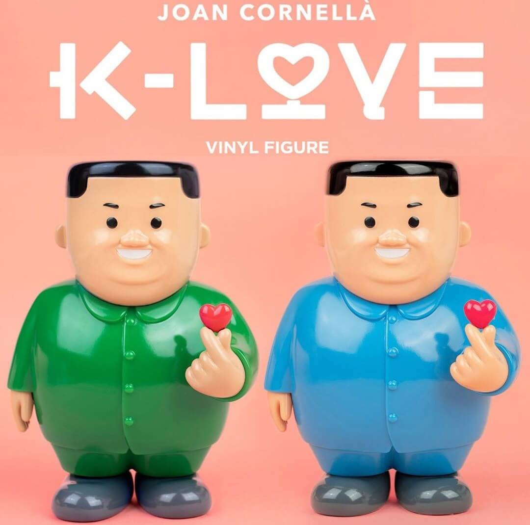 K-love Joan Cornella DDT Store Vinyl Toy Art Toy Sculpture