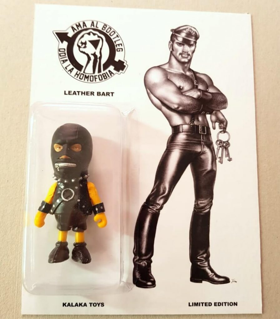 Kalaka toys Leather Bart Simpsons Queer