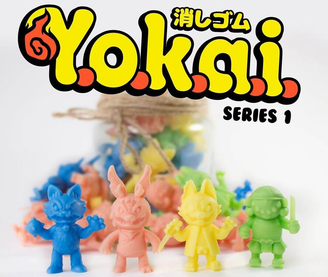 Keshi Yokai Series 1 Javier Jimenez Stick Up Monsters