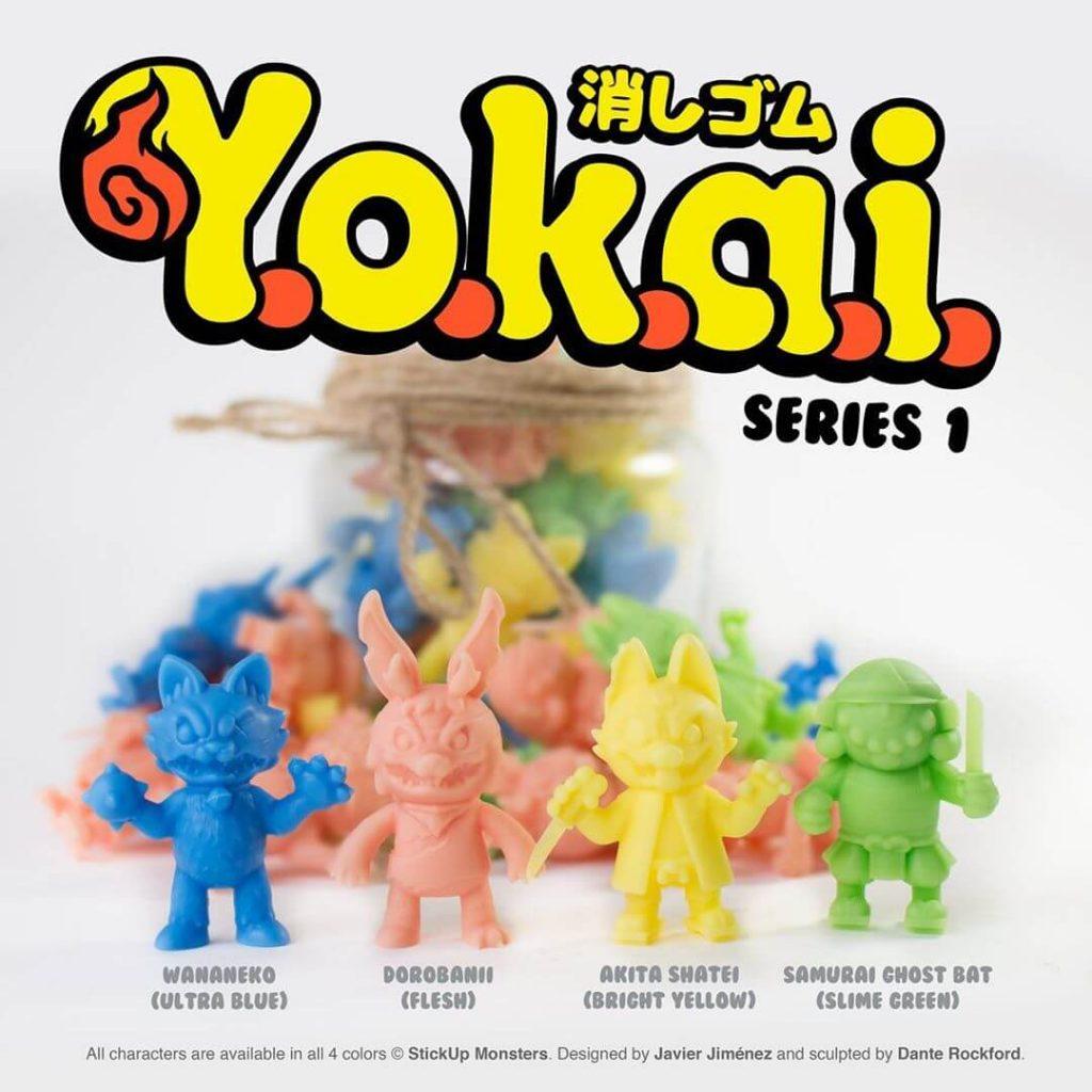 Keshi Yokai Series 1 Javier Jimenez Stick Up Monsters
