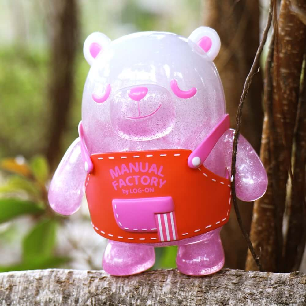 Manual Factory Bear Unbox Industries San Valentin Art Toy (13)
