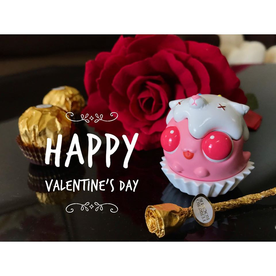 Mr Gingi San Valentin Art Toy
