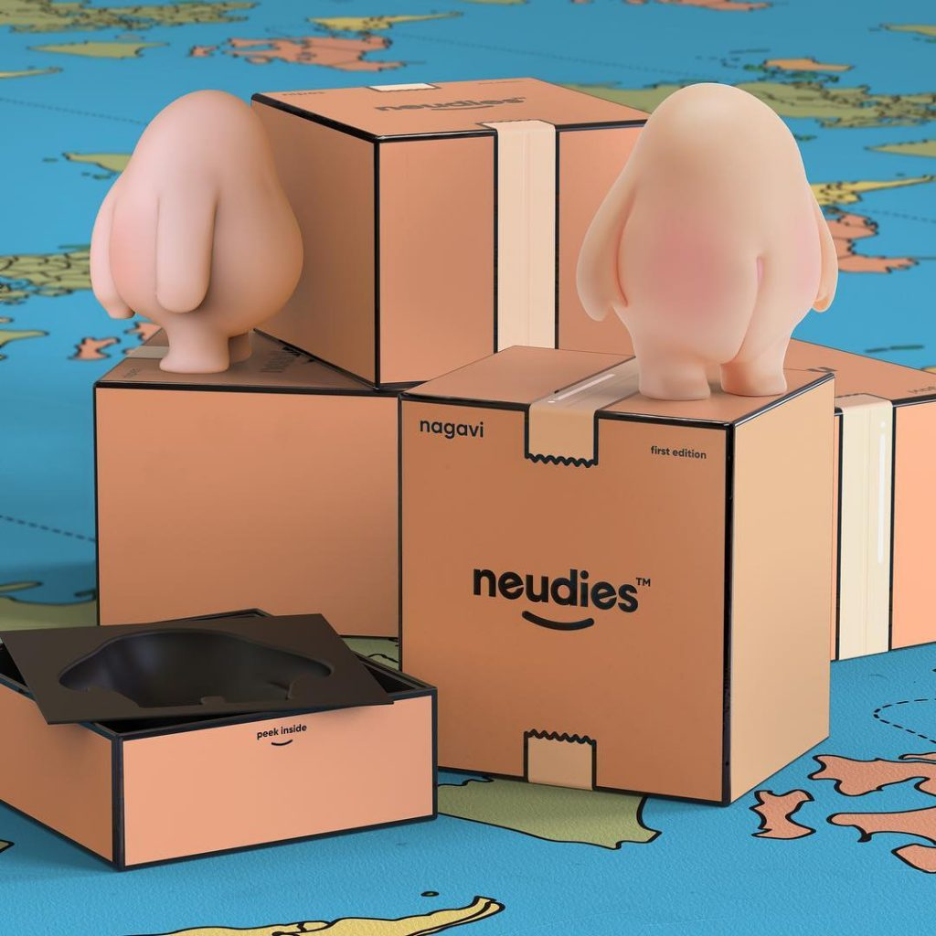 Nagavi Nipes Neudies Art Toys