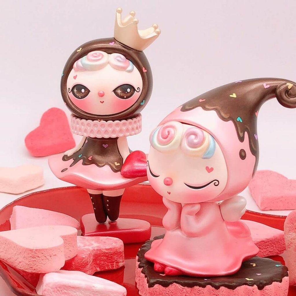 Teary Dressy Doll San Valentin Art Toy (5)