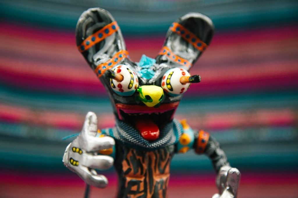 Friky Mouse Miss Santeria Resin Toy Art Toy