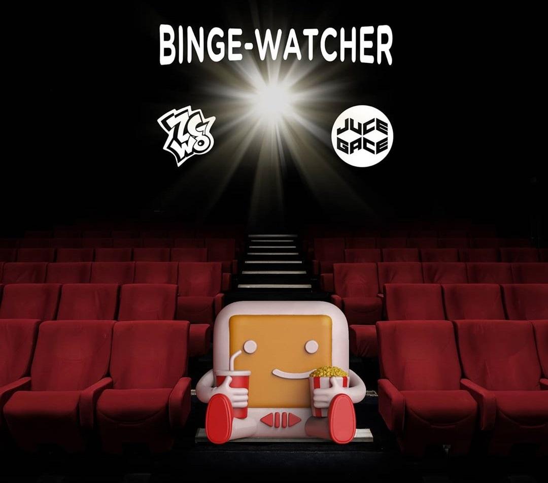 Binge Watcher Juce Gace ZWCO Netflix Art Toy Vinyl