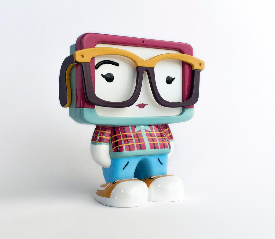Bloggie Art Toy Resin Toy
