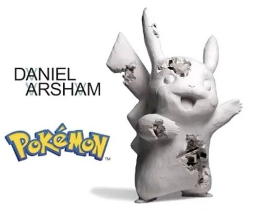 Daniel Arsham Pokemon Pikachu Crystalized Blue Sculpture