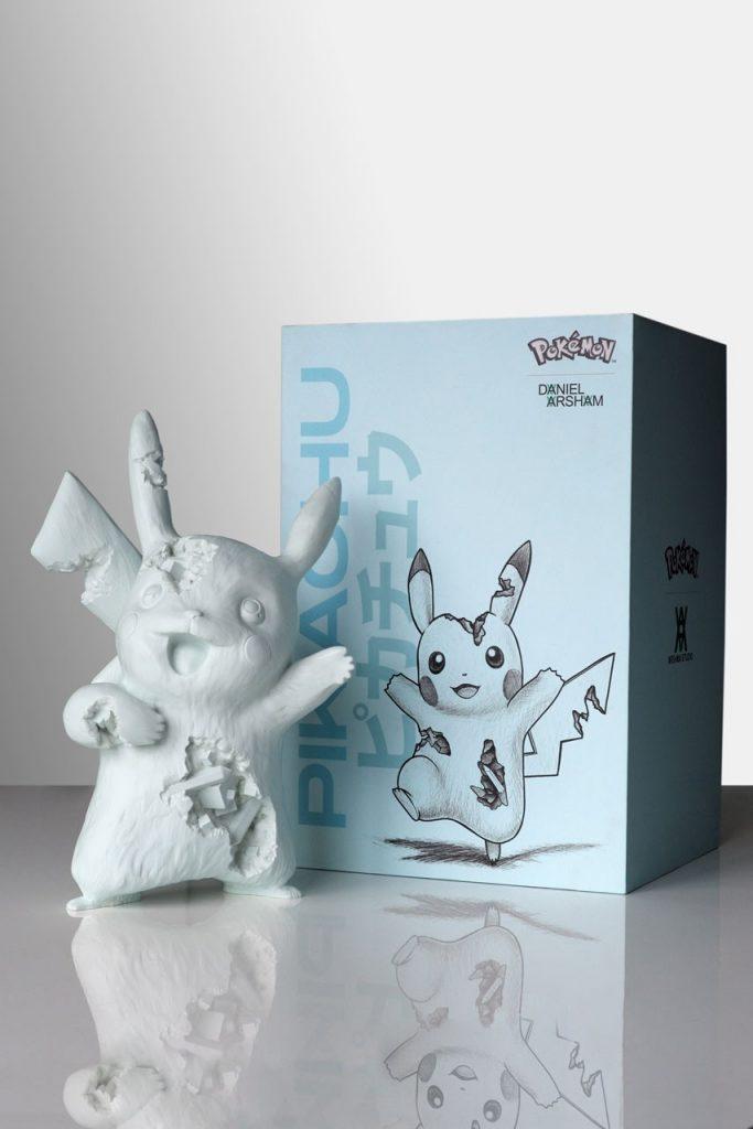 Daniel Arsham Pokemon Pikachu Crystalized Blue Sculpture