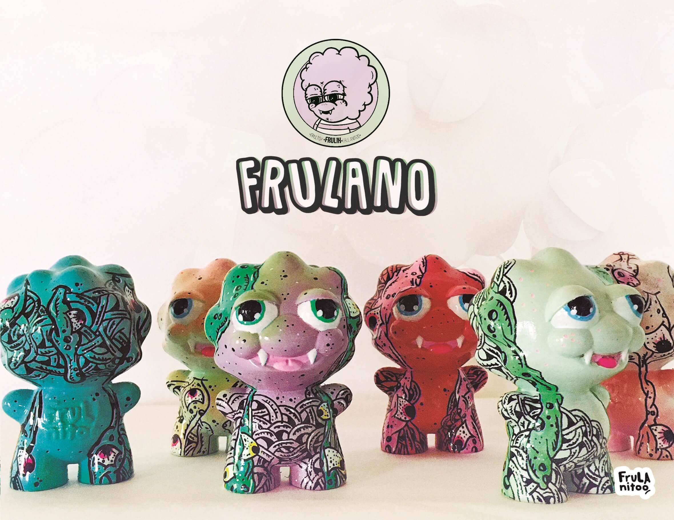 Frulano Frul Toys Art Toy Custom Resin