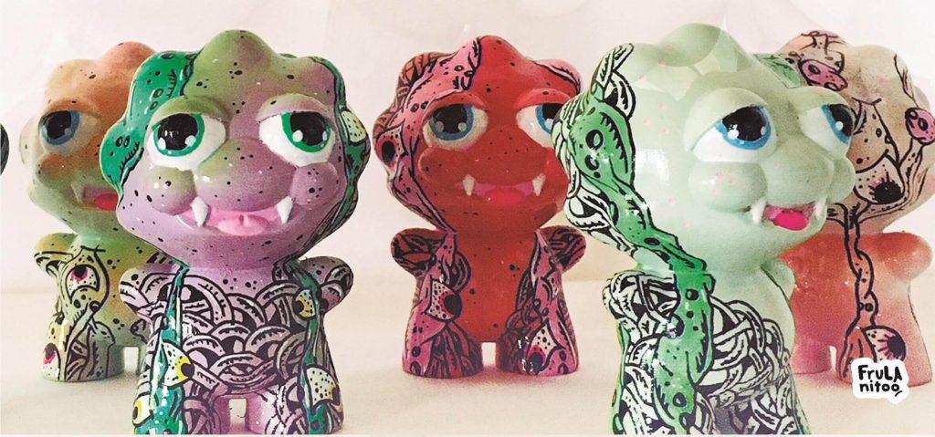 Frulano Frul Toys Art Toy Custom Resin