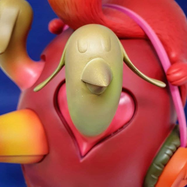 Beastie Head Alexone Dizac Artoyz Originals Sculpture