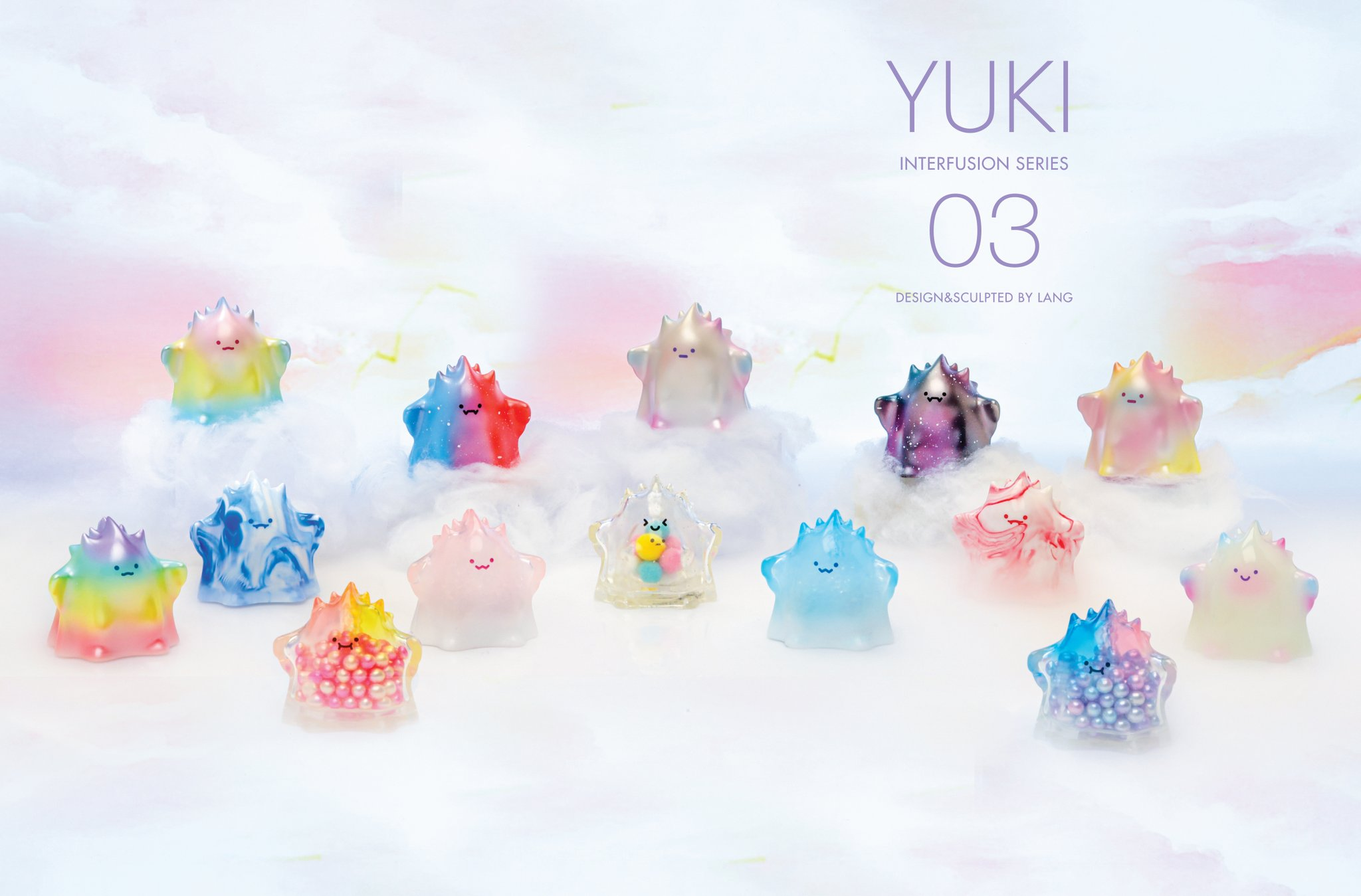 Yuki Interfusion Series 3 Popmart Lang Blind Box