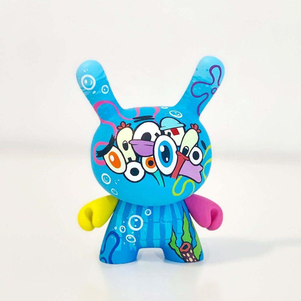 Sponge Bob Custom The Wuz Wuzone Dunny