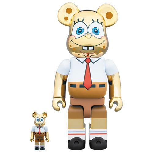 Bearbrick Set Spongebob Medicom
